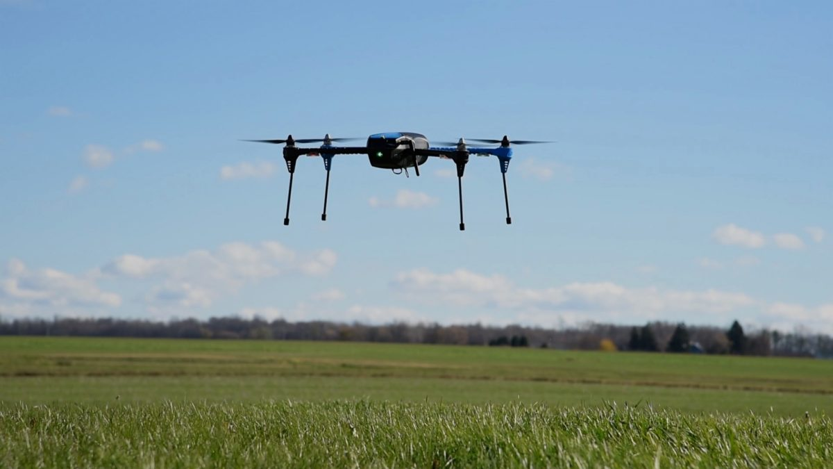 Cornell University drone takes flight for agricultural research
